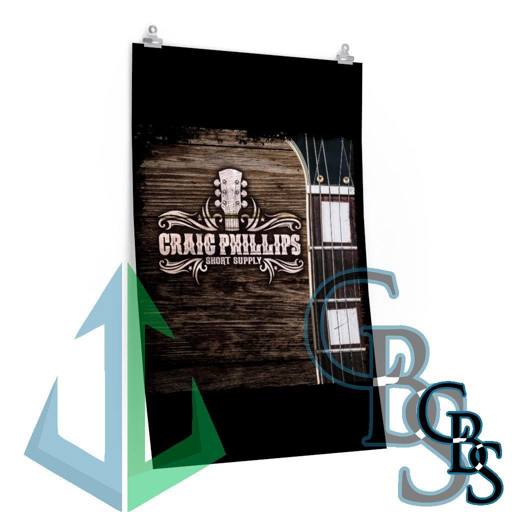 Craig Phillips – Short Supply Cover Posters