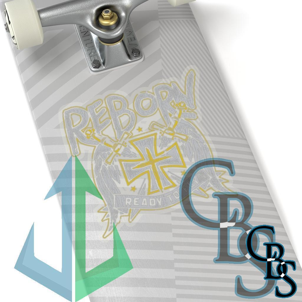 Reborn – Ready to Fly Die Cut Stickers