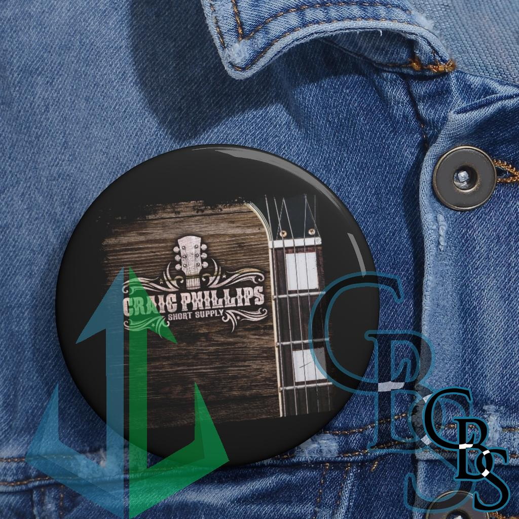 Craig Phillips – Short Supply Cover Pin Buttons