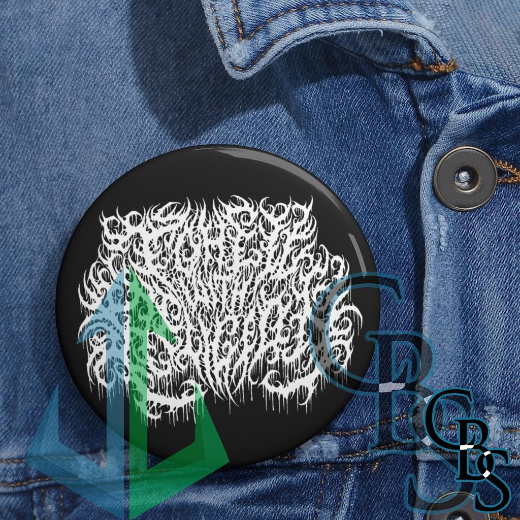 To Hell With Religion Logo Magazine Pin Buttons