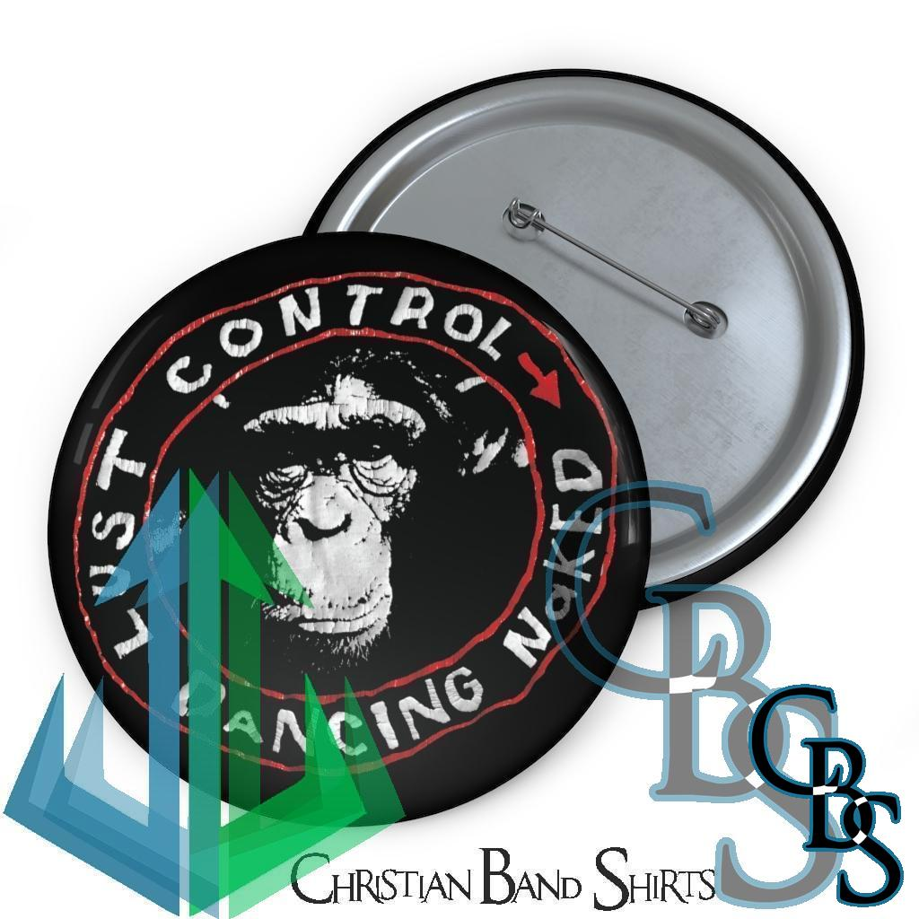 Lust Control – Dancing Naked Magazine Pin Buttons