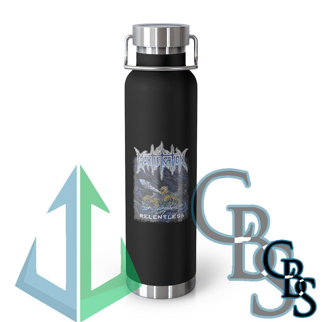Mortification – Relentless 22oz Vacuum Insulated Bottle