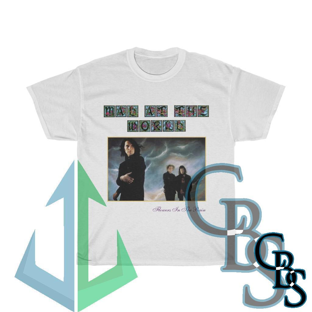 Mad At The World – Flowers in the Rain Short Sleeve Tshirt 5000
