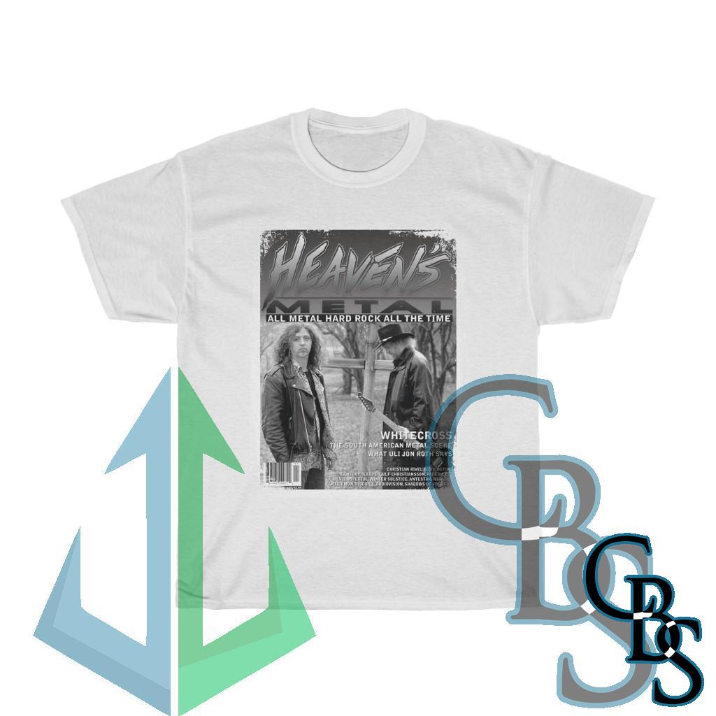 Heaven's Metal Issue 57 Whitecross Limited Edition Short Sleeve Tshirt