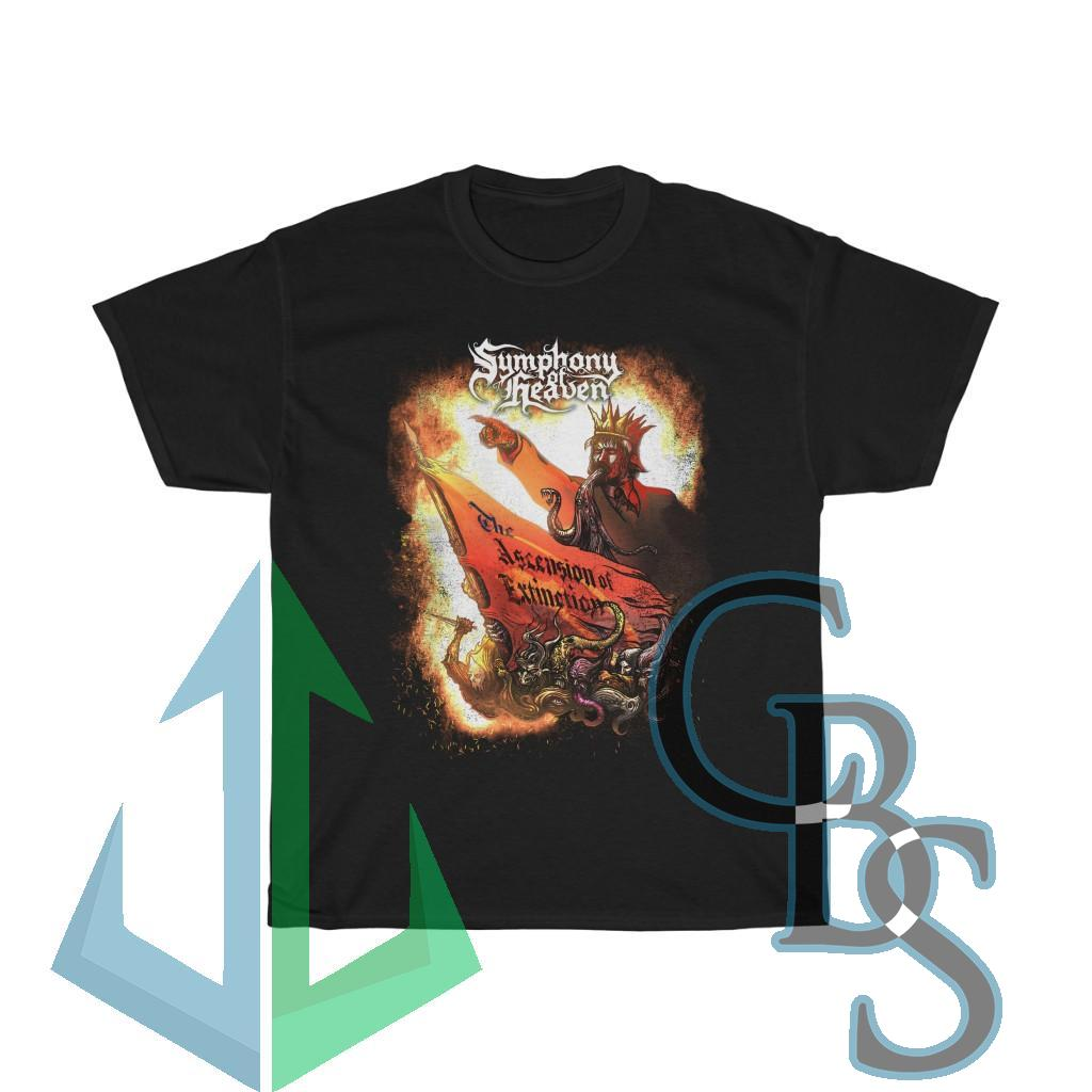 Symphony of Heaven – The Ascension of Extinction Short Sleeve Tshirt