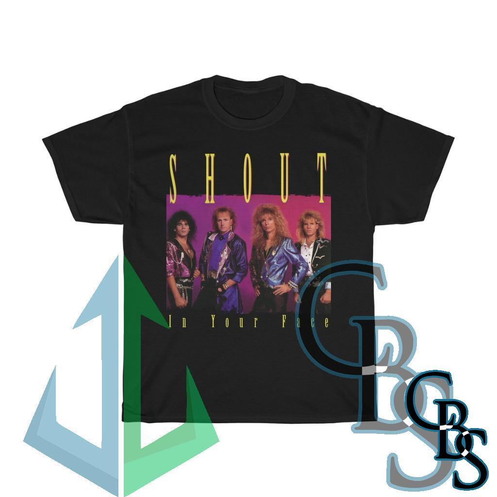 Shout – In Your Face Short Sleeve Tshirt (5000)