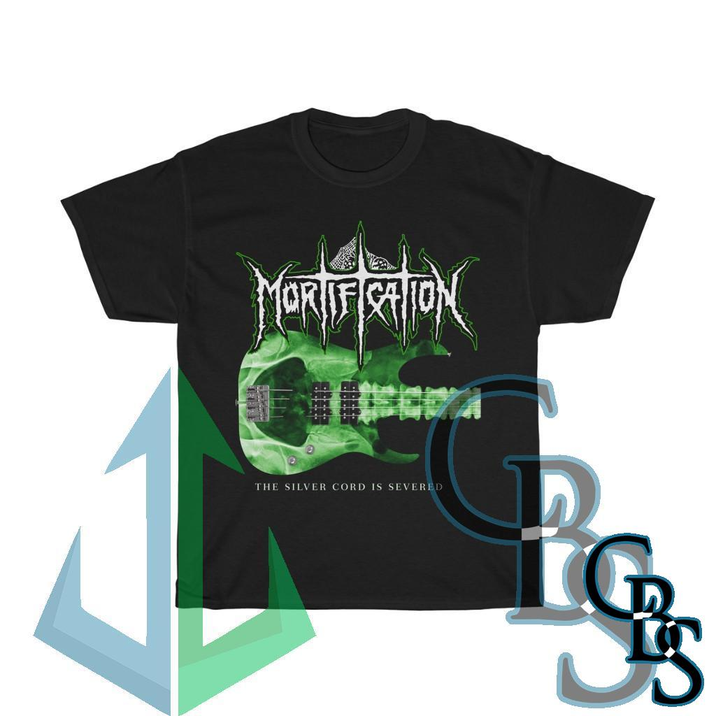 Mortification – The Silver Cord is Severed 2021 Short Sleeve Tshirt (5000)