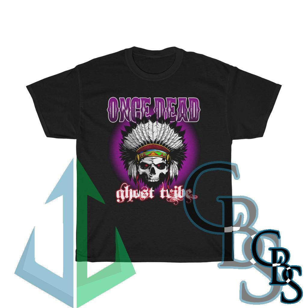 Once Dead – Ghost Tribe Short Sleeve Tshirt