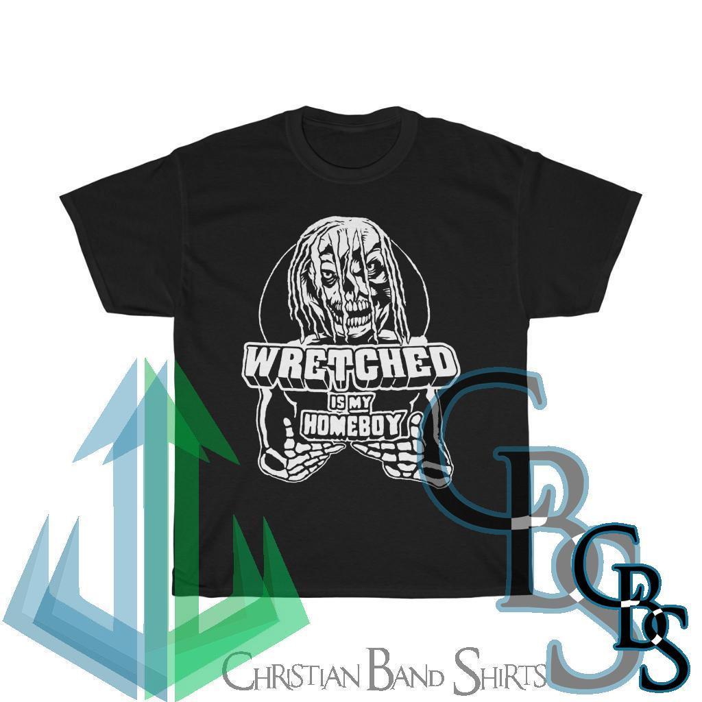 Wretched Graverobber Wretched Is My Homeboy Short Sleeve Tshirt
