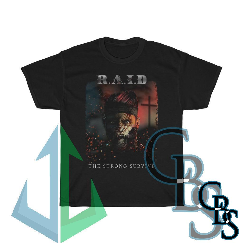 R.A.I.D – The Strong Survive Short Sleeve Tshirt