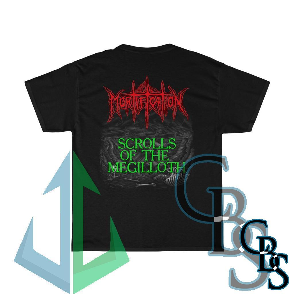 Mortification – Scrolls of the Megilloth Two Sided Short Sleeve Tshirt (5000D)