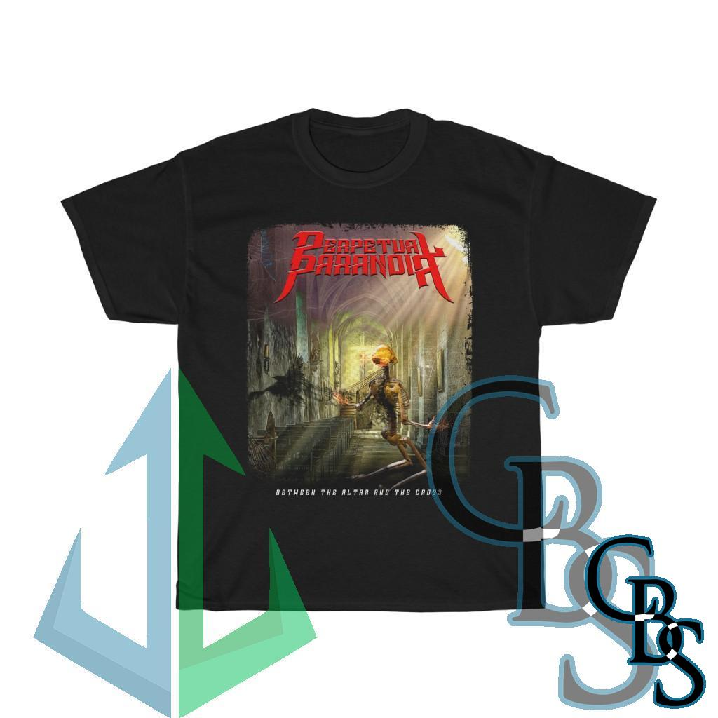Perpetual Paranoia – Between the Altar And the Cross Short Sleeve Tshirt
