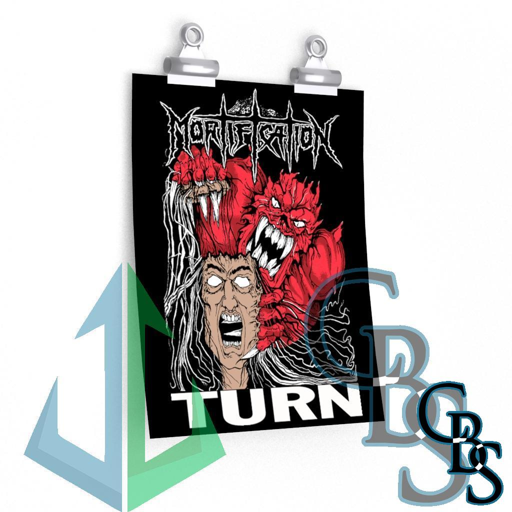 Mortification Turn Posters