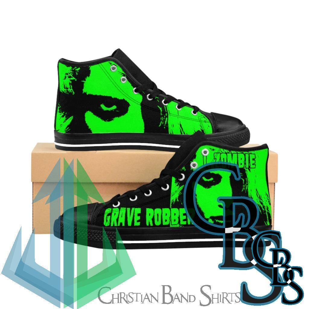 Grave Robber – I, Zombie Men's High-top Sneakers