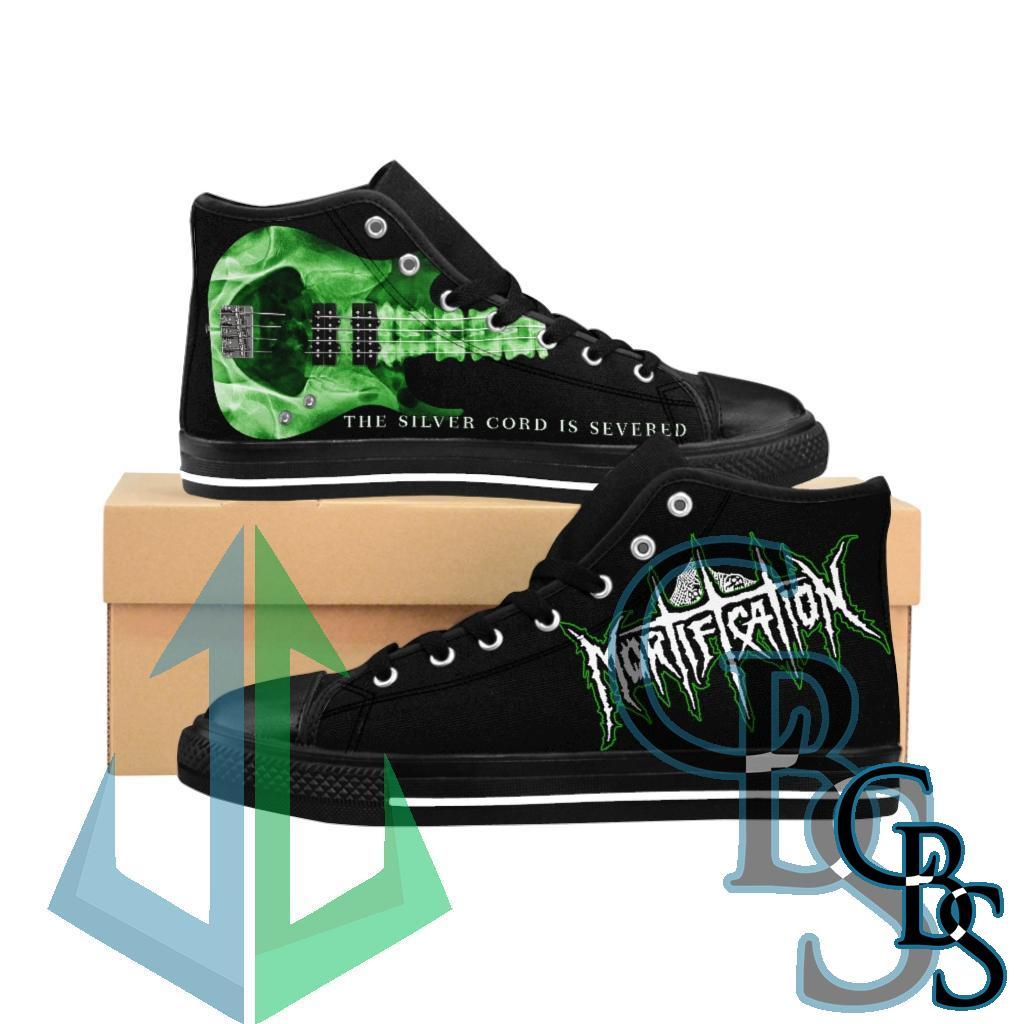 Mortification – The Silver Cord is Severed Men's High-top Sneakers