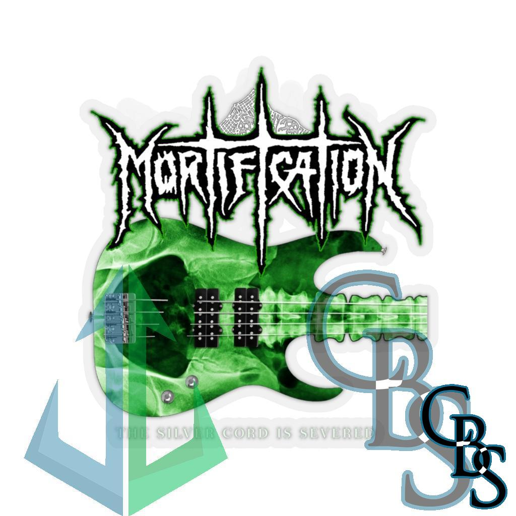 Mortification – The Silver Cord Is Severed Die Cut Stickers