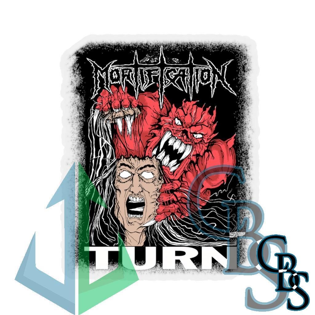 Mortification Turn Stickers
