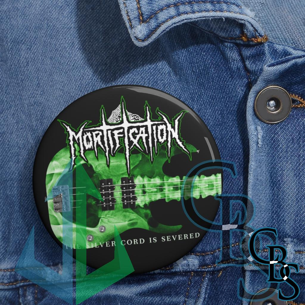 Mortification – The Silver Cord is Severed 2021 Pin Buttons