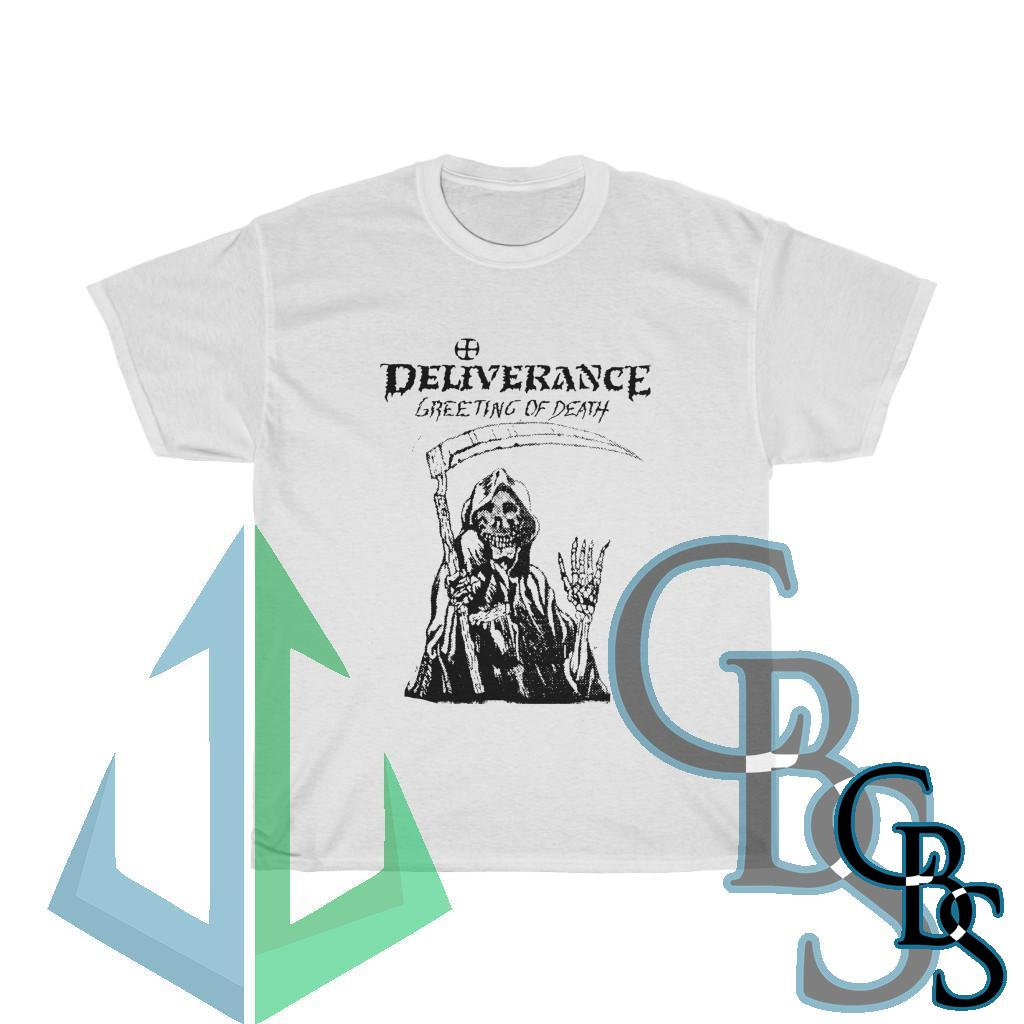 Deliverance Greetings of Death Short Sleeve Tshirt 2 Sided (5000D)