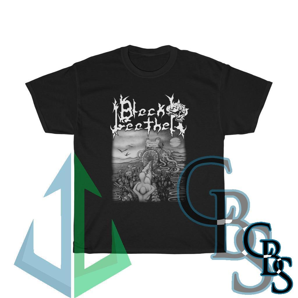 Black Leather – Welcome to the New Liberty Short Sleeve Tshirt (5000D)