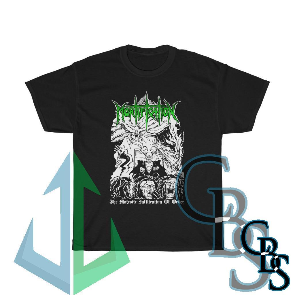 Mortification – The Majestic Infiltration of Order Short Sleeve Tshirt (5000D)