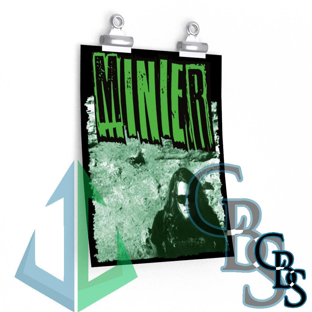 Minier Green Cover Posters