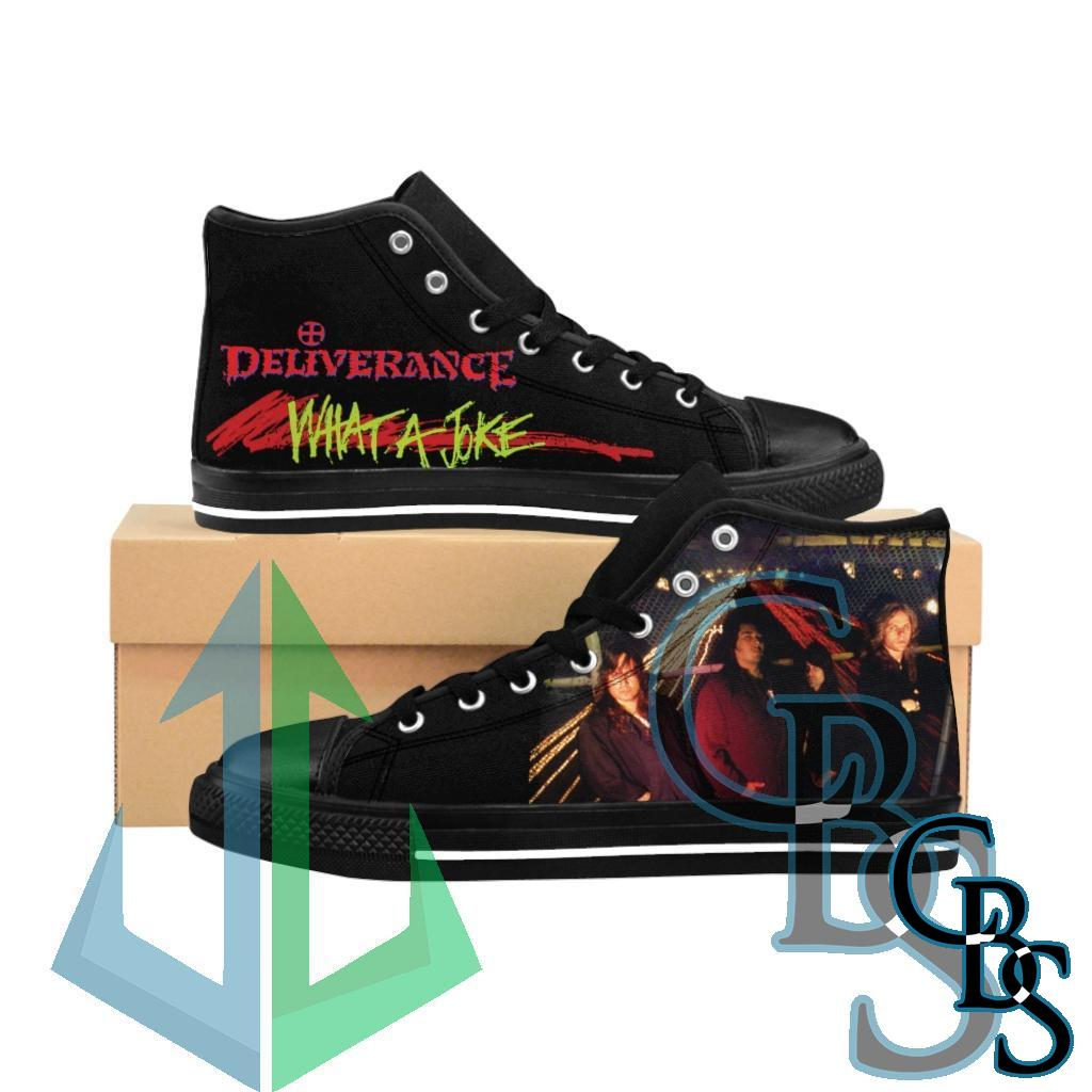 Deliverance – What a Joke Women's High-top Sneakers