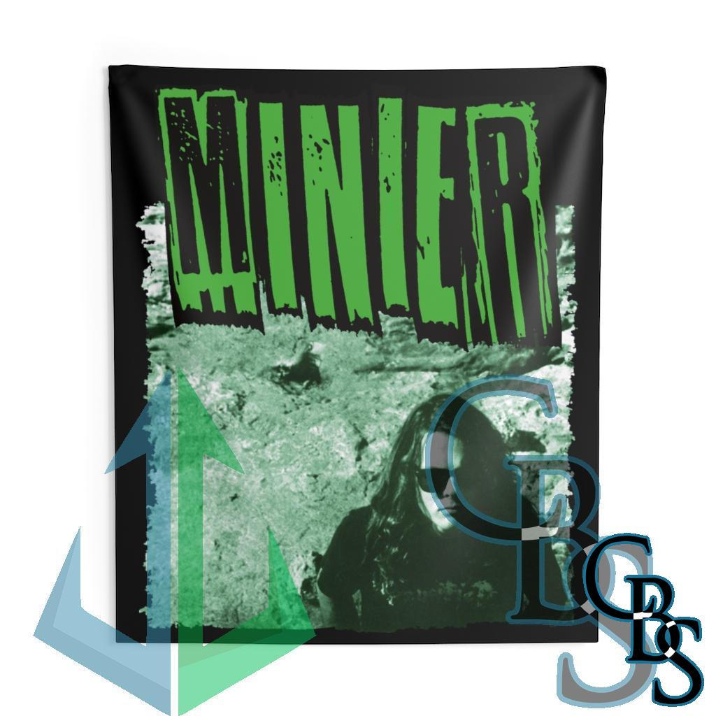 Minier Green Cover Indoor Wall Tapestries