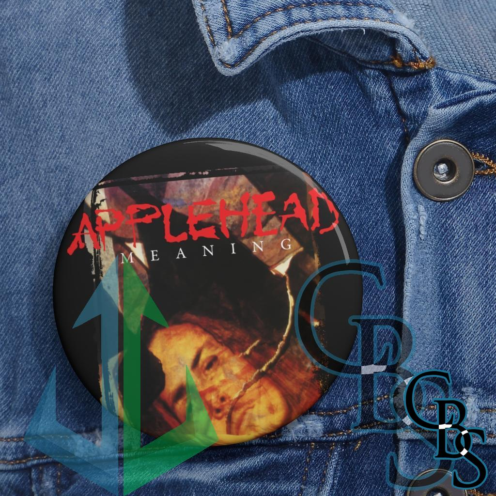 Applehead – Meaning Pin Buttons