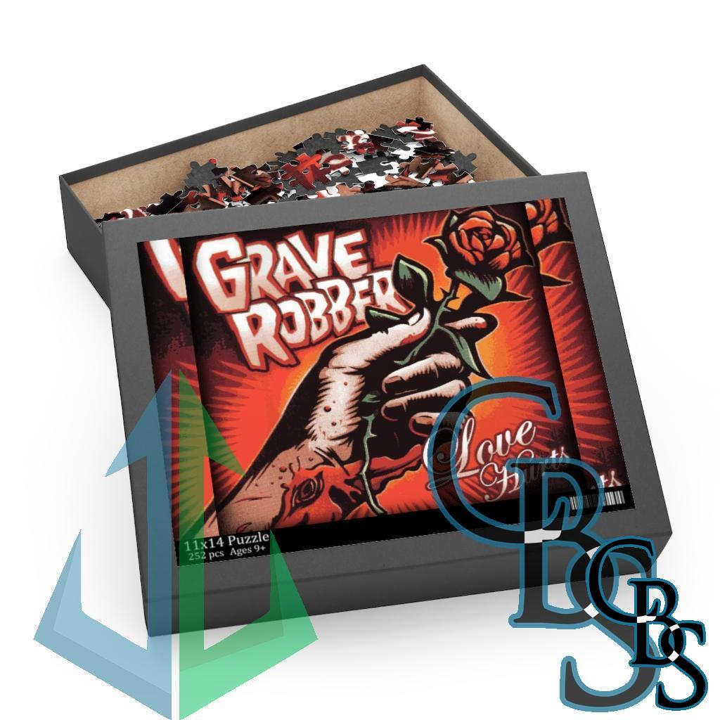 Grave Robber – Love Hurts Puzzle (120, 252, 500-Piece)