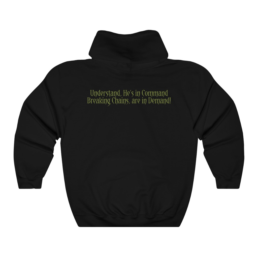 Weapons of God Logo Pullover Hooded Sweatshirt (185D)