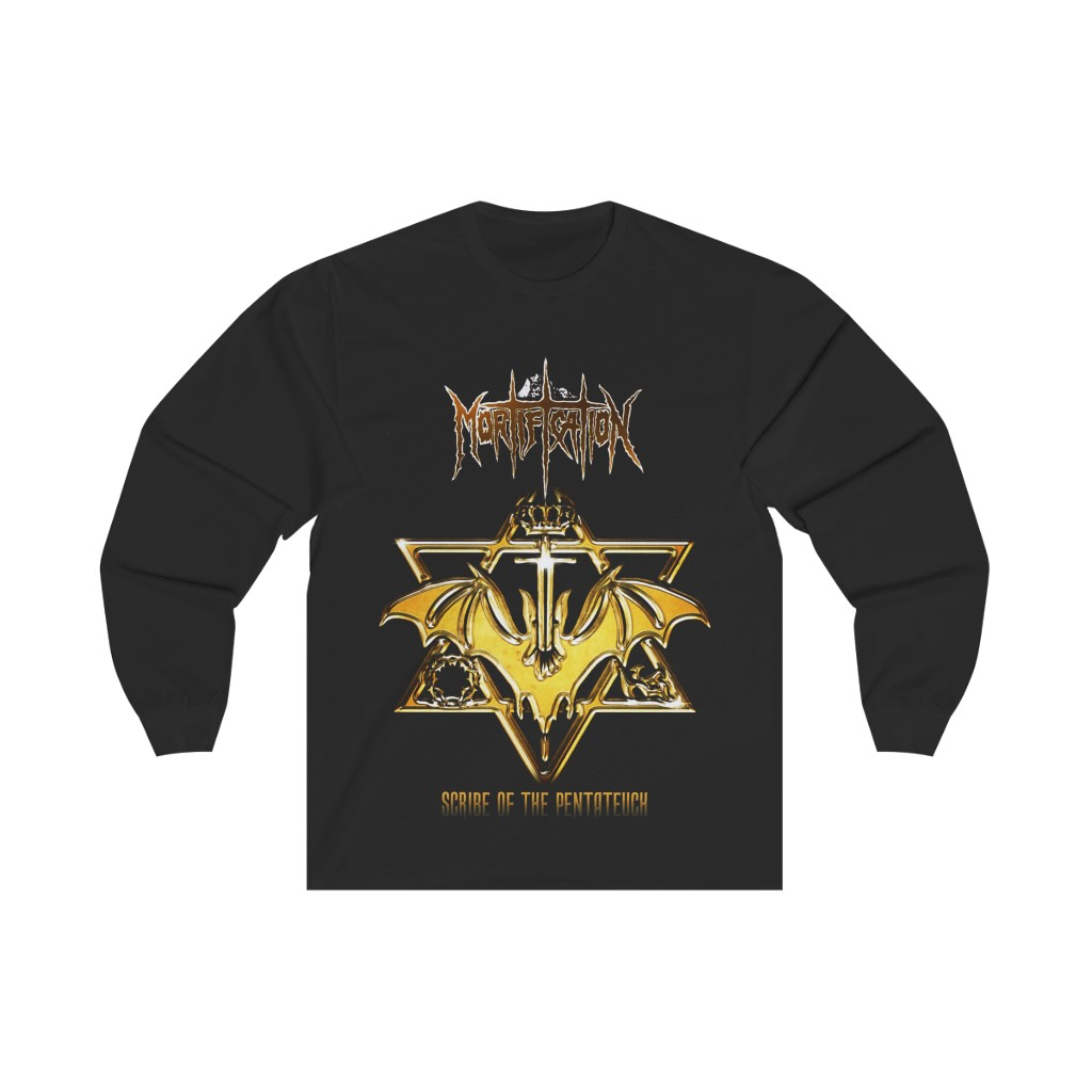 Mortification – Scribe of the Pentateuch Long Sleeve Tshirt