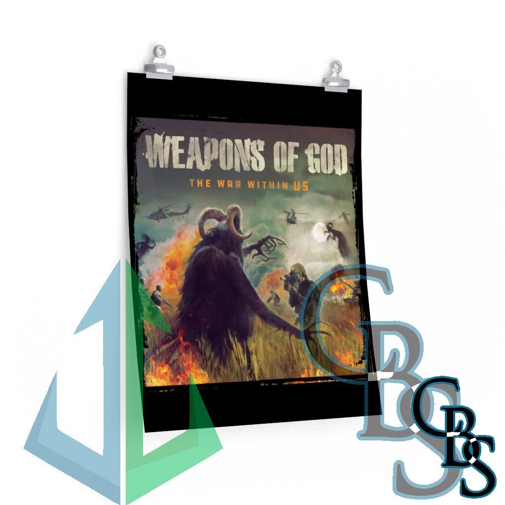 Weapons of God – The War Within Us Posters