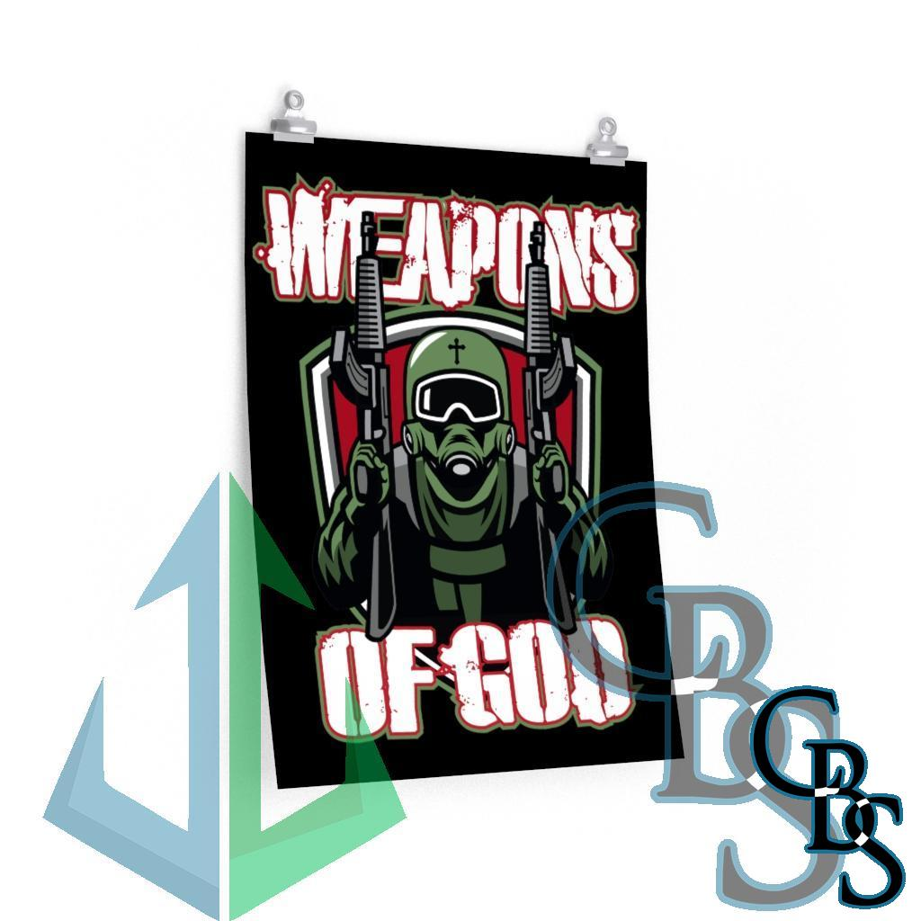 Weapons of God Posters