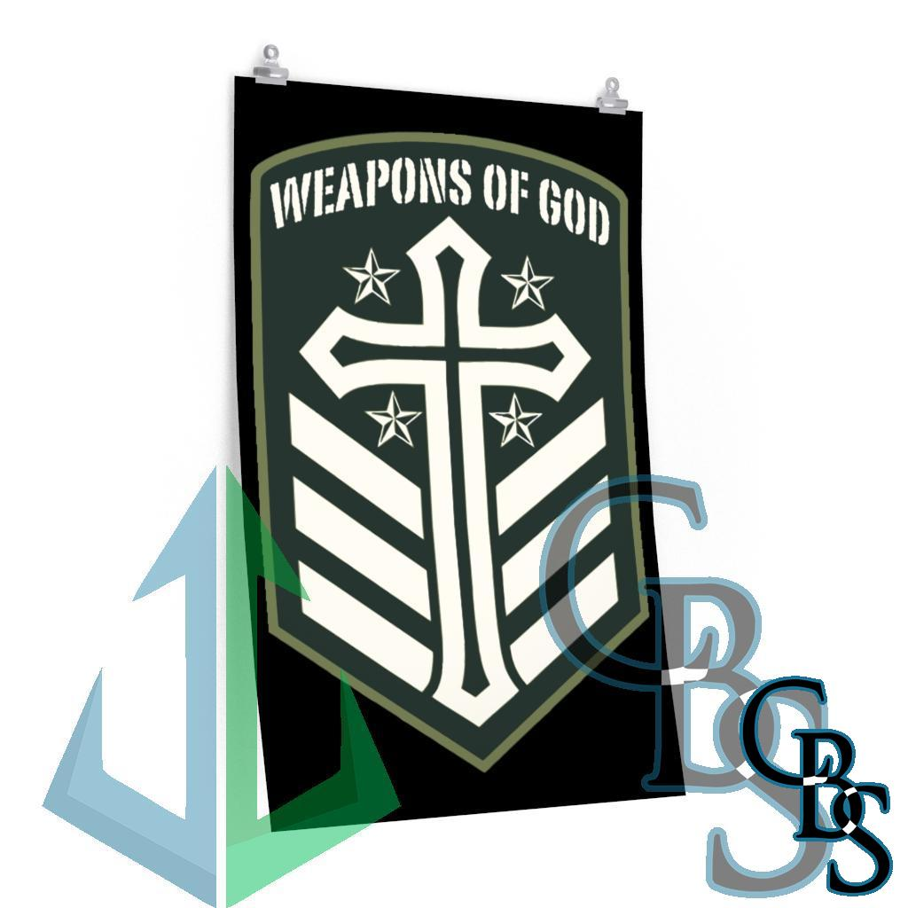 Weapons of God Emblem Posters
