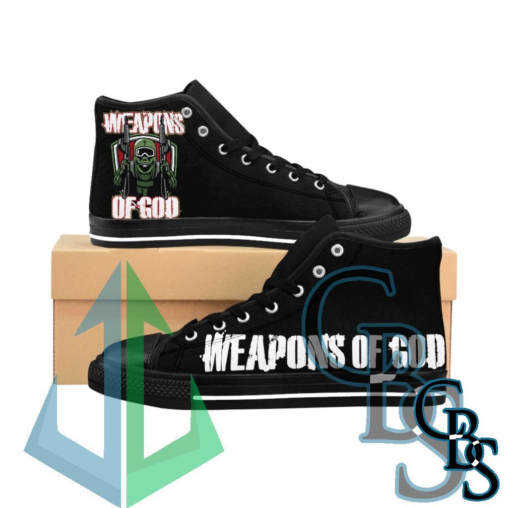 Weapons of God Women's High-top Sneakers