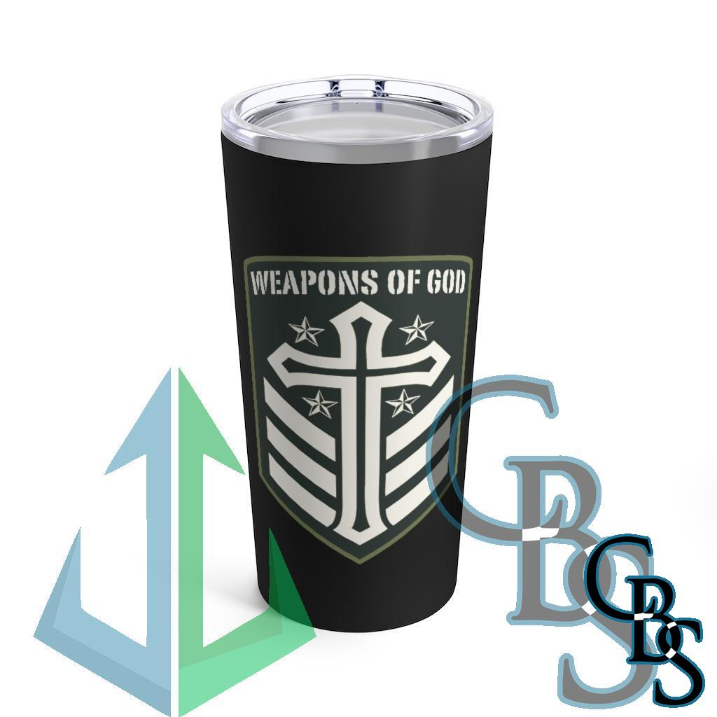 Weapons of God Emblem 20oz Stainless Steel Tumbler