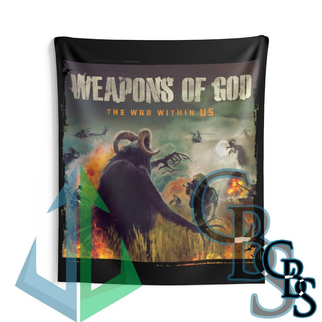 Weapons of God – The War Within Us Indoor Wall Tapestries