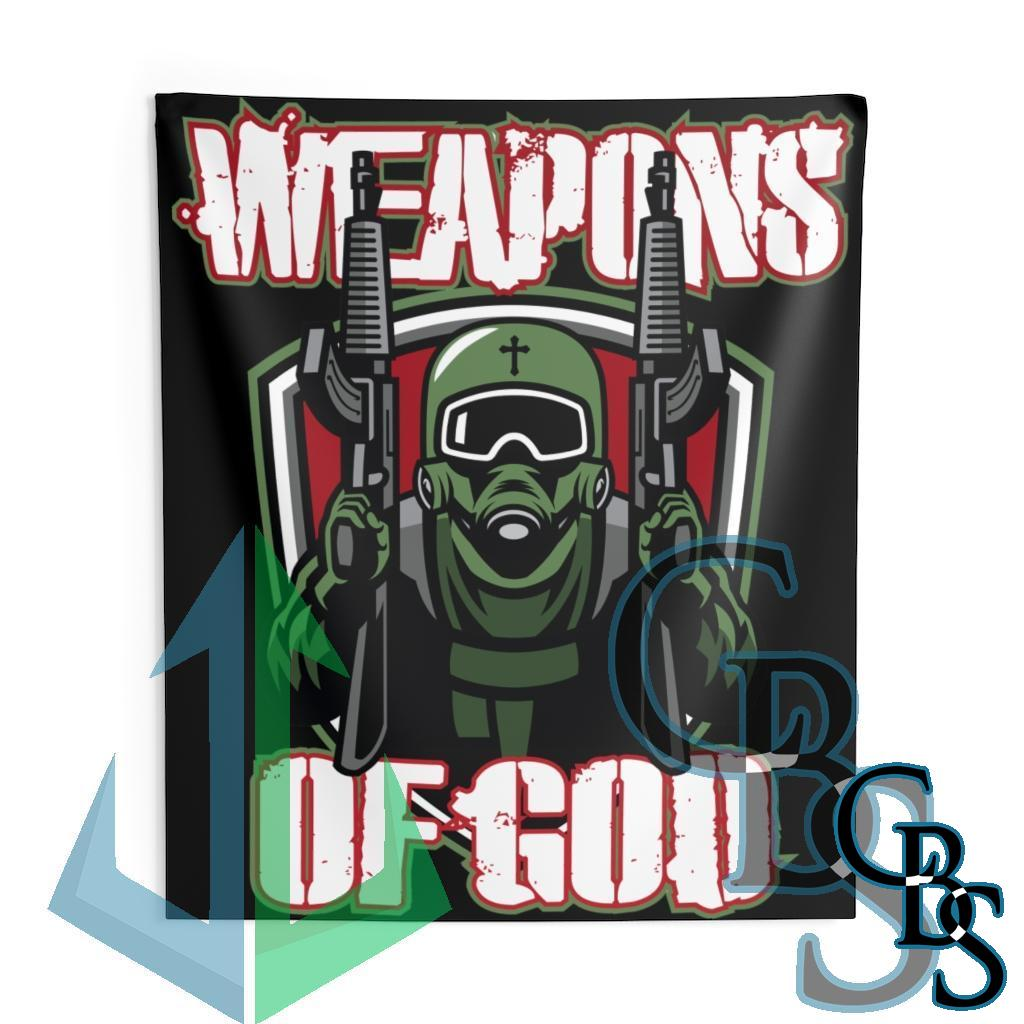 Weapons of God Indoor Wall Tapestries
