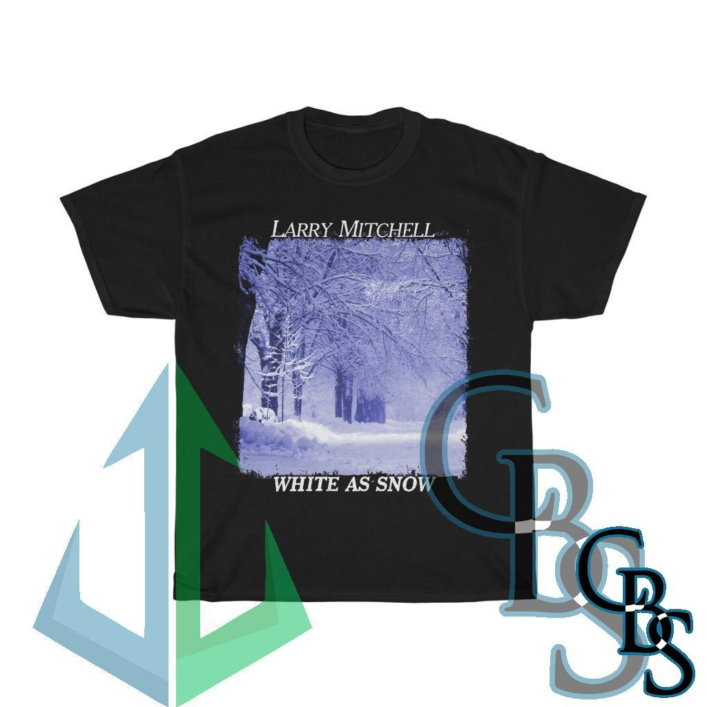 Larry Mitchell – White As Snow Short Sleeve Tshirt (5000)