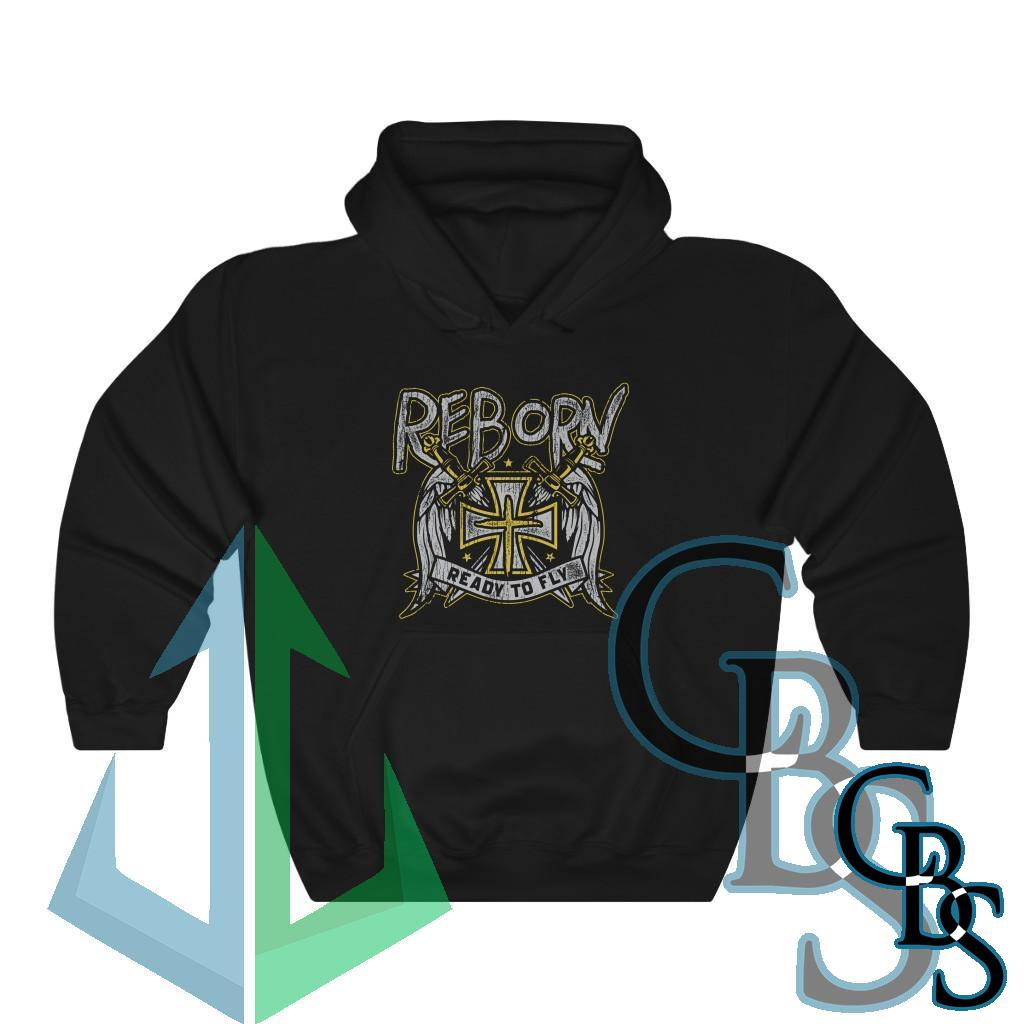 Reborn – Ready to Fly Pullover Hooded Sweatshirt (18500)