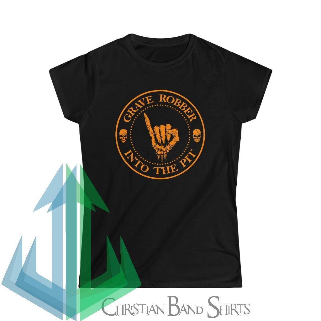 Grave Robber Into The Pit (Limited Edition Orange) Women's Short Sleeve Tshirt 64000L