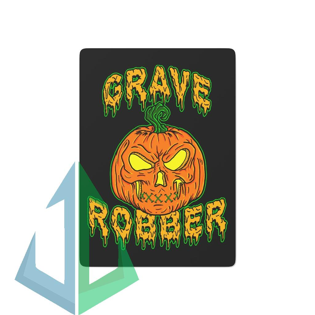 Grave Robber Pumpkin 2021 Version Playing Cards